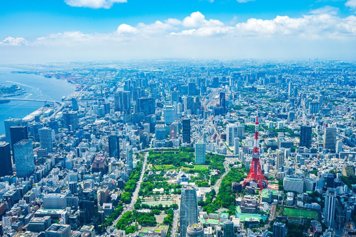 東京の街の風景